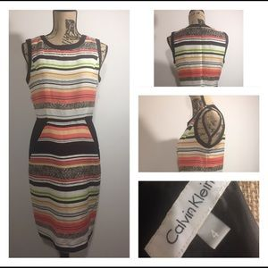 Calvin Klein size 4 dress sleeveless